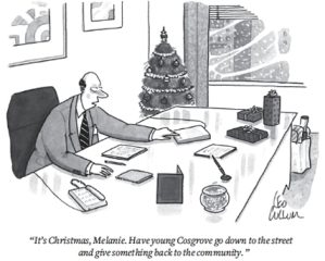(Cartoon by Leo Collum/The New Yorker Collection)