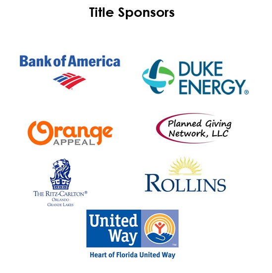 Thank you to the 2014 National Philanthropy Day Title Sponsors.